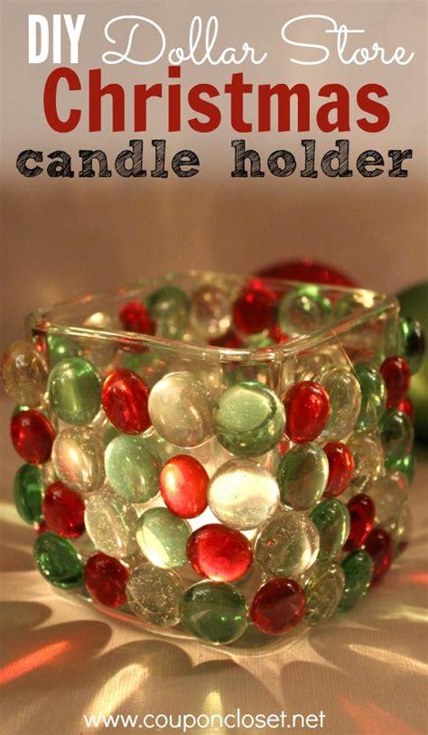 christmas candles diy dollar store candle holder coupon closet