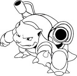 blastoise coloring page free blastoise coloring pages