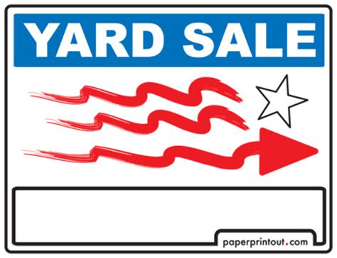 printable yard sale signs free car for sale sign to print online pictures