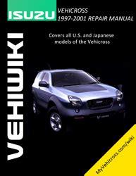2001 isuzu vehicross free repair manual air bags service manual active cabin noise suppression vxwiki