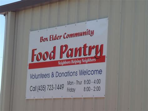 Food Pantry Hours by Our Facility Hours Box Elder Community Pantry Quot Neighbors
