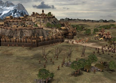 Midgard And Middle Earth formations advanced mod for battle for middle earth ii