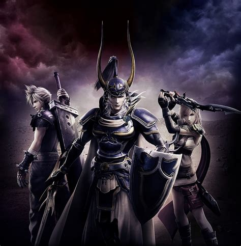 warrior of light ffbe dissidia nt i tutorial di battaglia akiba