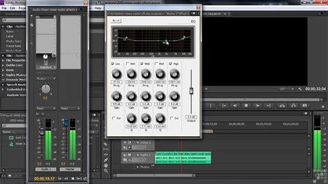 adobe premiere pro audio effects adobe premiere pro cs6 tutorial mixer audio effects on vimeo