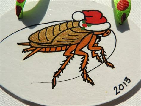 ba hum bug trees ba hum bug painted roach palmetto bug ornament fr