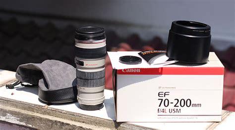 Lensa Canon 70 200 F4l Is sold lensa canon 70 200 f4l blognya arantan