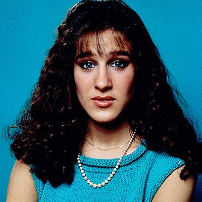 when they were young(er): sarah jessica parker