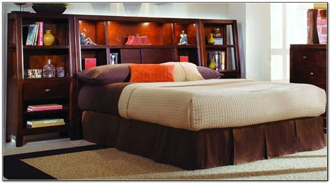 king size bed with bookcase headboard king size storage bed with bookcase headboard beds