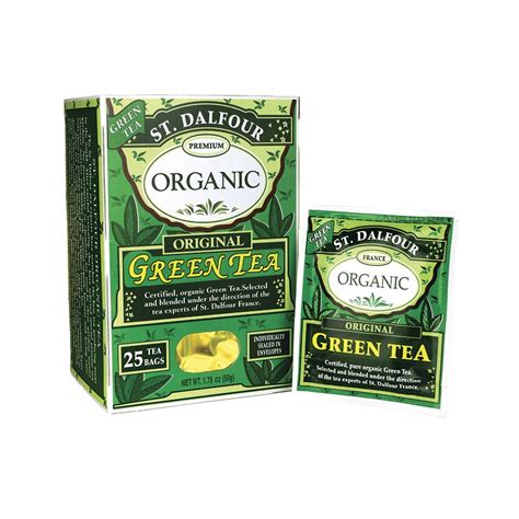 Organic Green Detox Tea Bags 25 Pack by Organic Green Tea Original 25 Bag S
