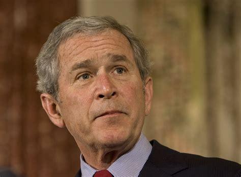 george bush it s not soon to judge george w bush s presidency on key issues la times