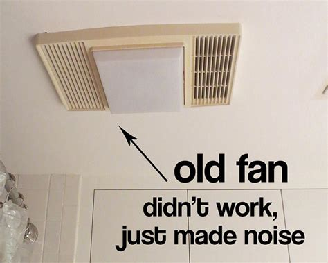 bathroom ceiling fans replacement my bathroom exhaust fan didn t work and i find out why
