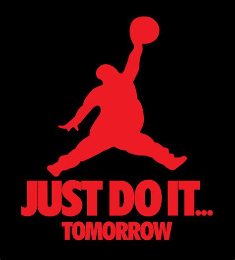 I Just It by Just Do It Tomorrow Shirt Nike Brand Lazy T