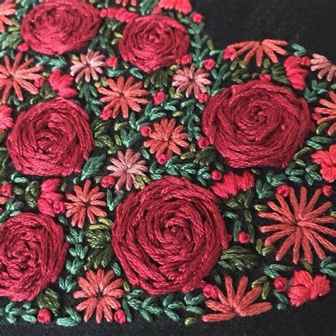 embroidery design rose flower hand embroidery designs rose flowers www imgkid com