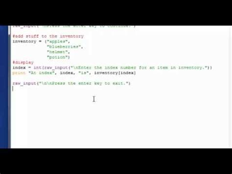 tutorial python slice basic python tutorial 12 more on tuples indexing and