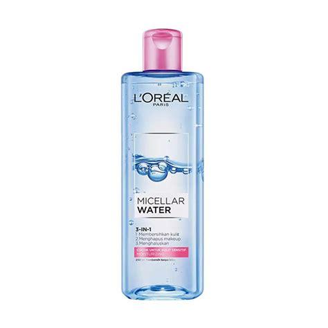 L Oreal Makeup Remover Harga jual l oreal micellar water nourishing 250 ml