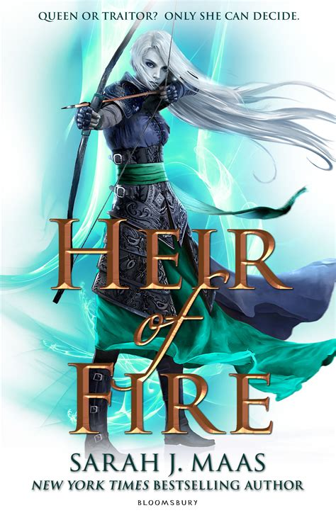 cover reveal heir of fire by sarah j maas inside my