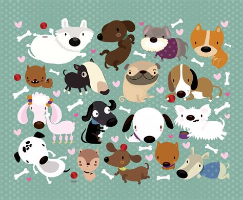 Dog Pattern Wallpaper | dog pattern by mjdaluz on deviantart