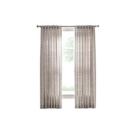martha stewart curtains and drapes martha stewart living cement gray full bloom back tab