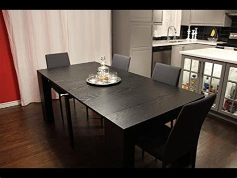 Transformer Extendable Dining Table Expands From Console Transformer Dining Table