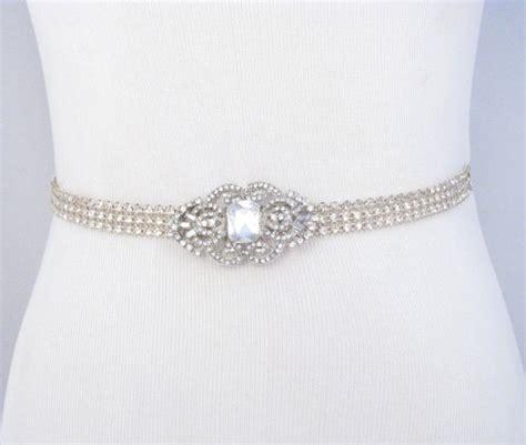 bridal sash rhinestone wedding belt dress sash