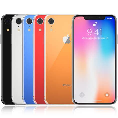 iphone 9 colors apple iphone 9 colors model turbosquid 1322197