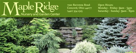 Garden Ridge In Concord Maple Ridge Nursery And Garden Center Landscaping Design
