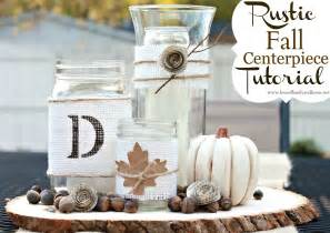 diy rustic centerpieces rustic fall centerpiece tutorial of family home