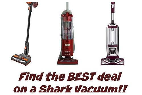 vacuum cleaners deals