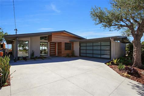 impressive mid century modern remodel in san diego opens