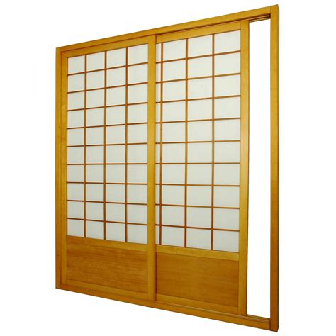 furniture 7 ft zen shoji sliding door kit room dividers at hayneedle
