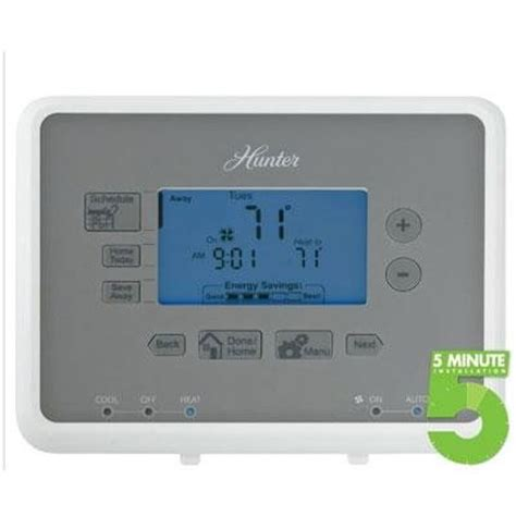 hunter fan company thermostat hunter programmable thermostat great price best deals