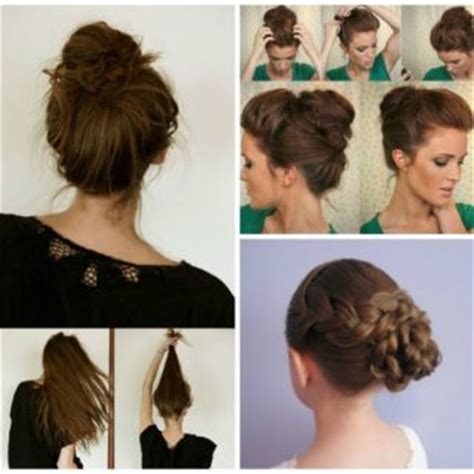 Simple Bun Hairstyles by 60 Simple Diy Hairstyles For Busy Mornings