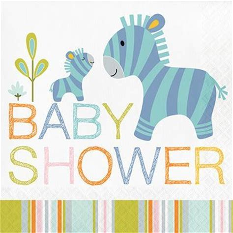 Baby Showeres by Happi Jungle Baby Shower Napkins 16