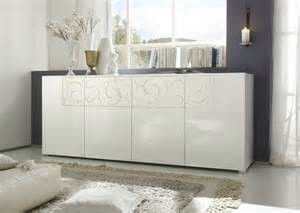 indogate salon meuble blanc laque