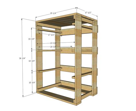 Ana White Build A Pallet Laundry Basket Dresser By Wooden Laundry Plans