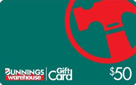 Bunnings Gift Card - seminar registration auswide bank small things big difference