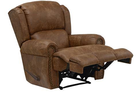 the recliner catnapper dempsey leather recliner by oj commerce 689 00