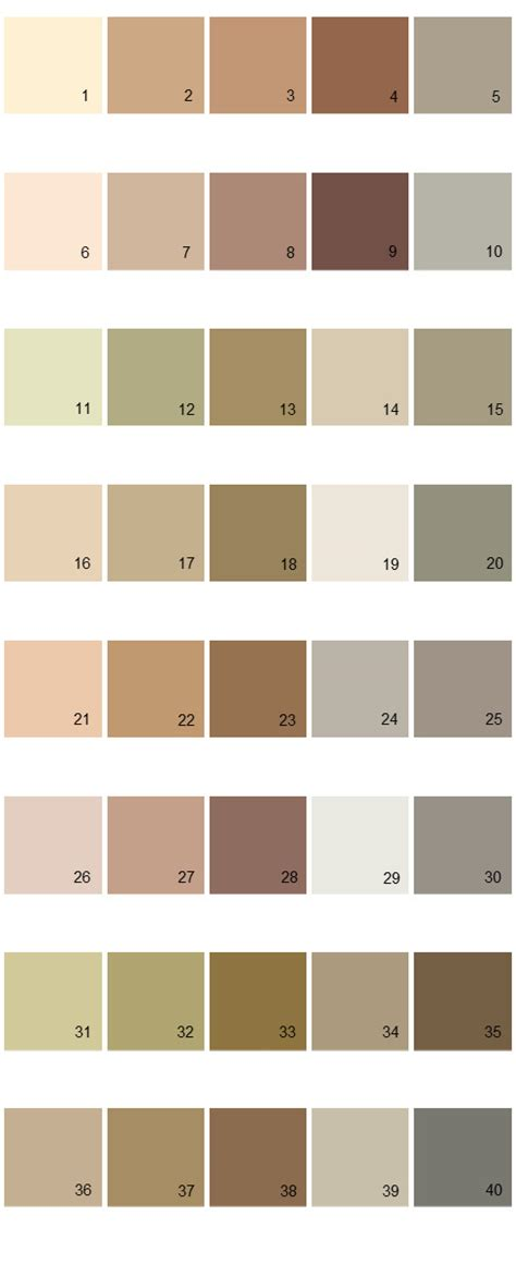 valspar exterior paint color chart valspar paint colors colony palette 09 house paint colors