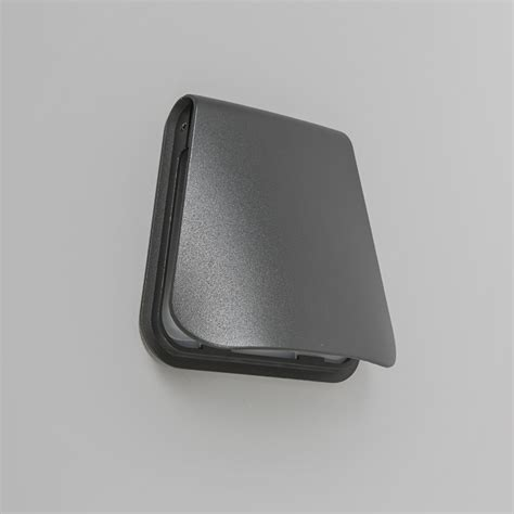 Wall L Cover Led Dark Grey Landlight Co Uk Outdoor Light Cover