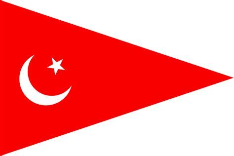 testo white flag file triangular flag with white crescent svg
