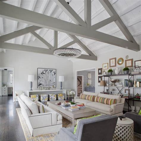 living room with vaulted ceiling how to build airtight insulated cathedral ceilings hgtv