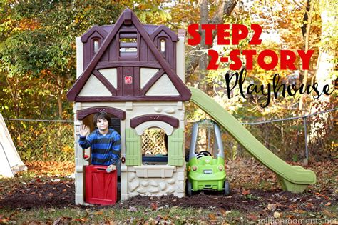 Making Memories With the Step2 2 Story Playhouse & Slide