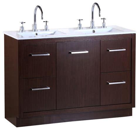 48 bathroom vanity double sink 48 quot double sink vanity transitional bathroom vanities