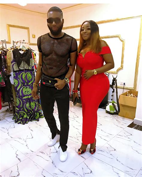 latest ini edo news music pictures video gists gossip ini edo is all shade of stunning in this red number