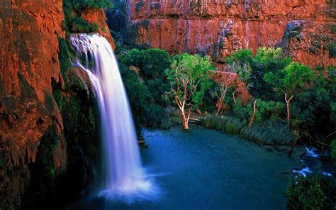 imagenes de paisajes y cascadas preciosa cascada fondos de escritorio gratis