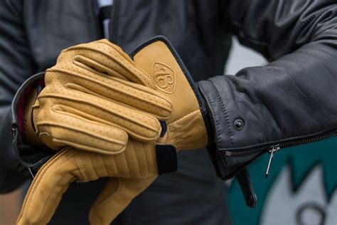 Sarung Tangan Kulit Asli Gloves Genuine Leather Crafted 010 speed gloves by 78 motor co king of fuel