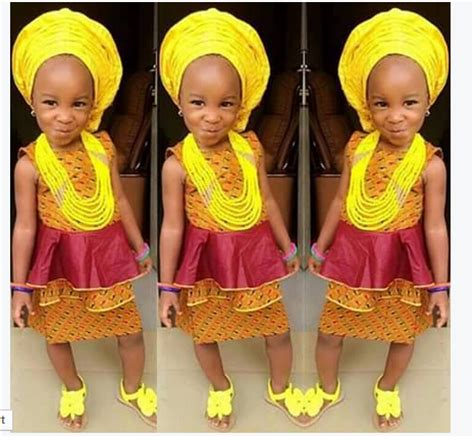 nigerian native styles for children these 12 cute nigerian kids in traditional attires will