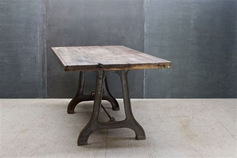 seins vintage industrial lathe table 20th century