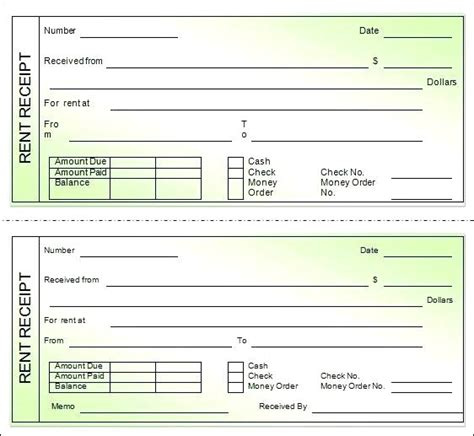 ground rent receipt template rent receipt ontario rent receipt pdf house rent receipt