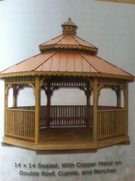 14x14 Gazebo Wooden Octagon Gazebos Shedsnashville